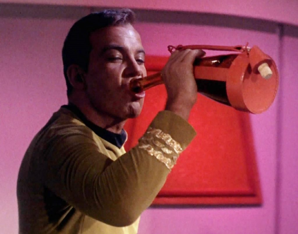 Star Trek Themed Cocktails - James T Kirk Saurian Brandy