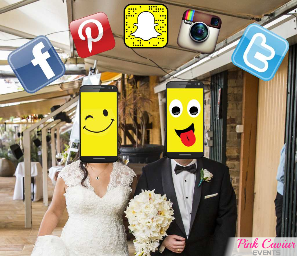 Smartphones & Social Media on your Wedding Day