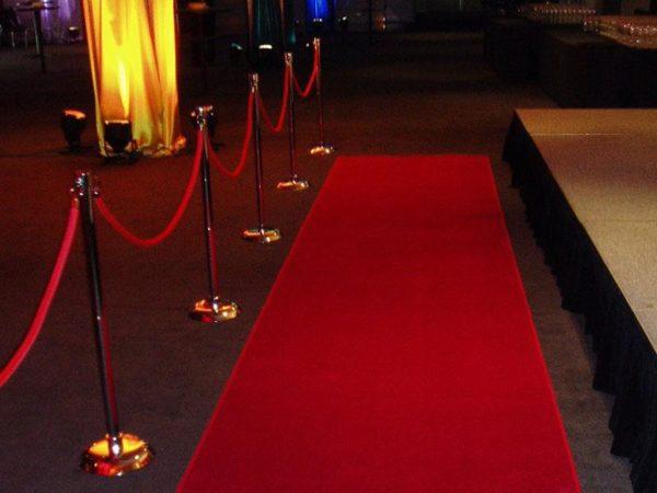 Red Carpet Bollards