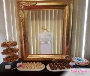 baby shower dessert table WM