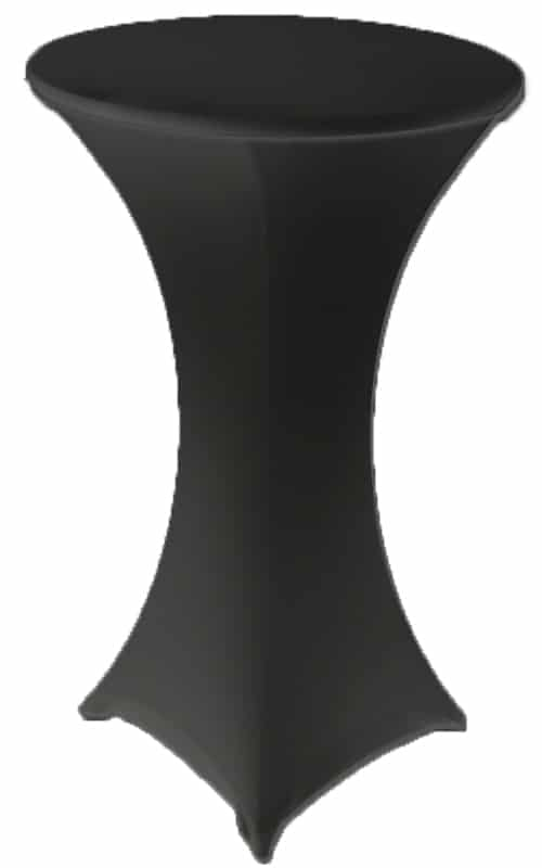 Lycra Bar Cover - Black