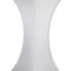 Lycra Bar Cover - White