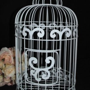 Bird Cage Wishing Well