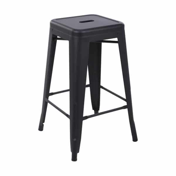 Tolix Bar Stool - Black