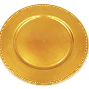 Charger Plate - Gold 33cm