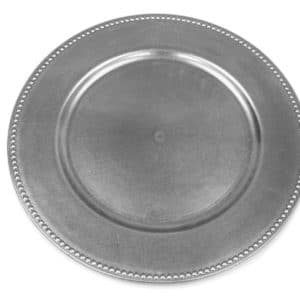 Charger Plate - Silver 33cm