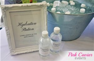 hydration water bottle station WM