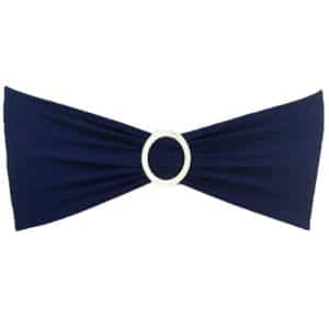 Lycra Chair Band - Navy