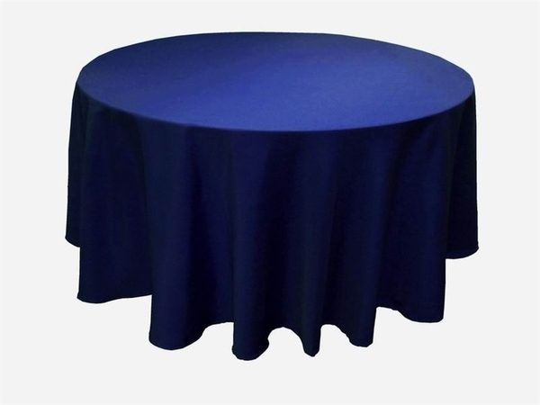 Navy Table Cloth