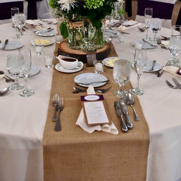 Burlap Hessian Table Runner Event Managers And Stylists