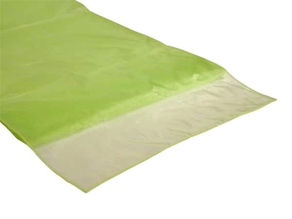 Organza Table Runner - Apple Lime Green