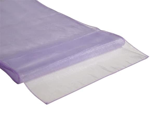 Organza Table Runner - Lavender Liliac