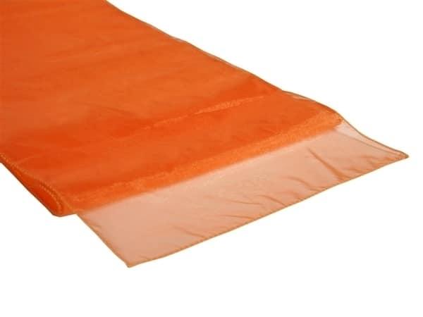 Organza Table Runner - Orange
