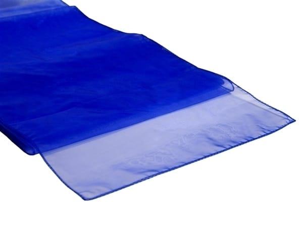 Organza Table Runner - Royal Blue