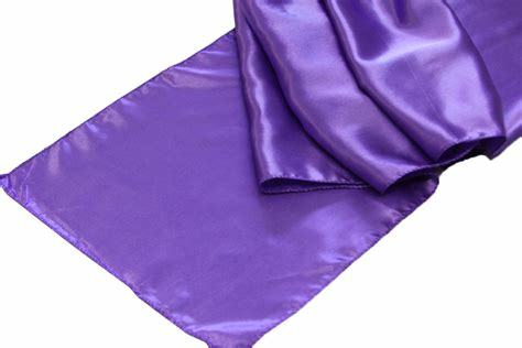 Satin Runner - Cadbury Purple