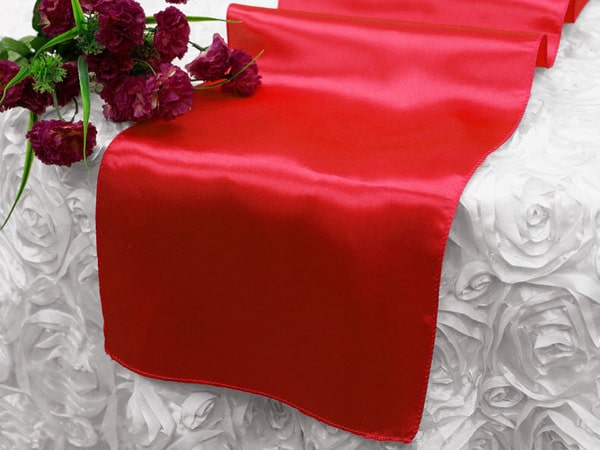 Satin Runner - Red