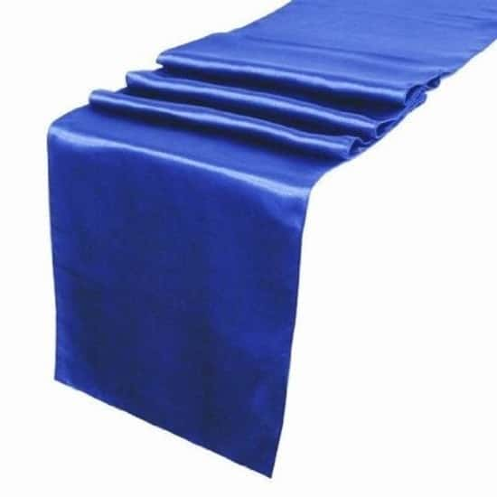 Satin Runner - Royal Blue