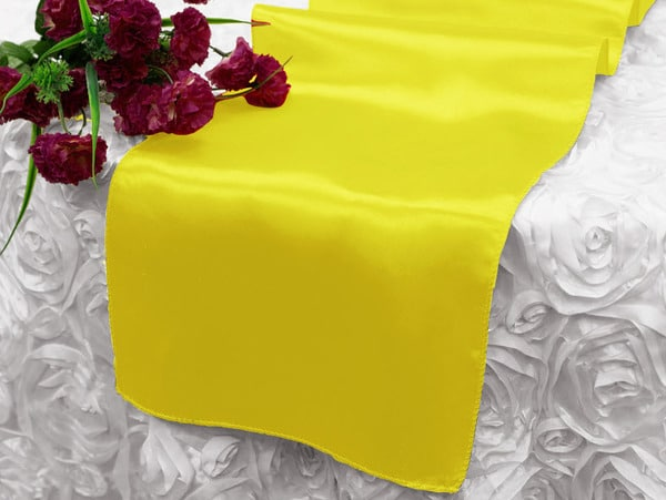 Satin Runner - Yellow
