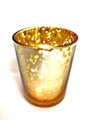 Tea Light - Mercury Gold