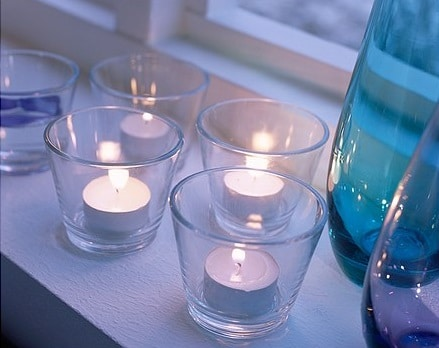 Tea lights - Clear