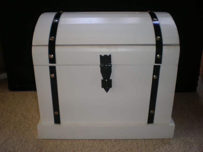 treasure chest wishing well wedding event planners coordinators