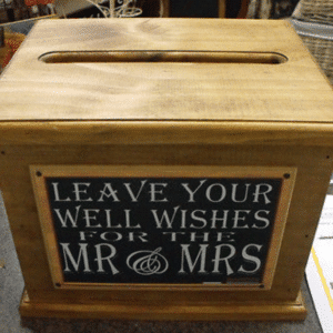 Wishing Well - Timber Box