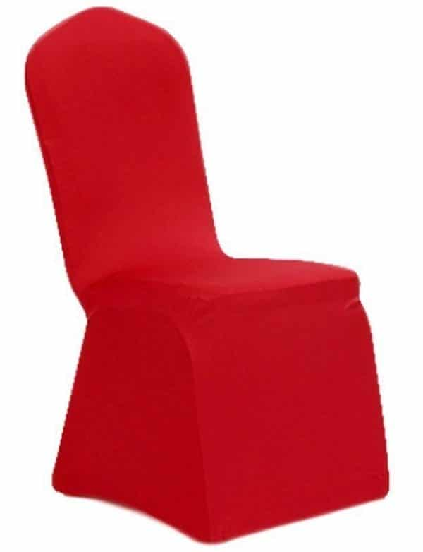Lycra Chair Cover - Red