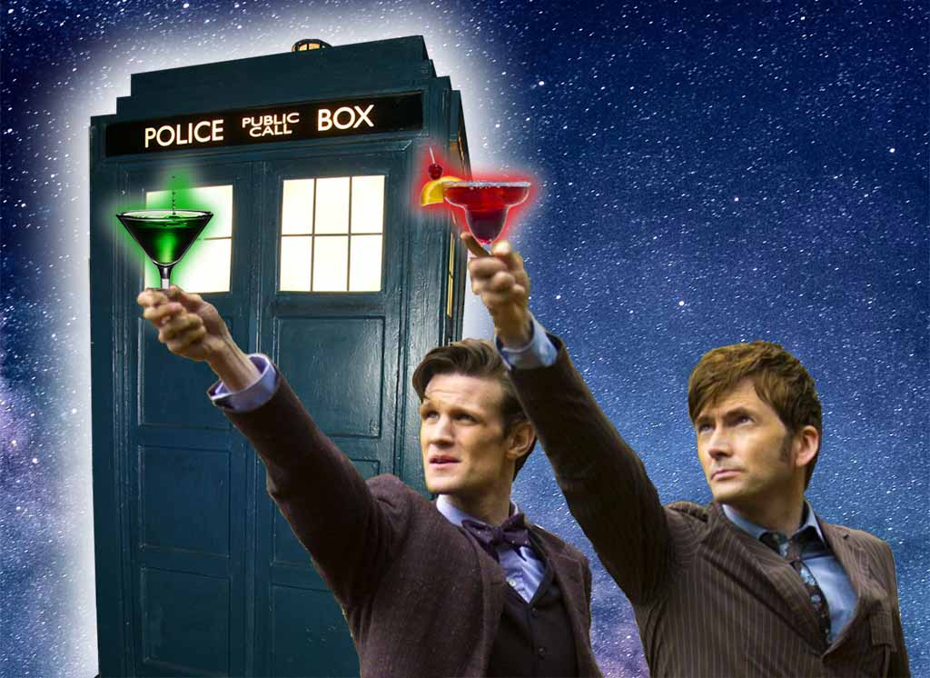 Doctor Who Cocktails For Your Wedding