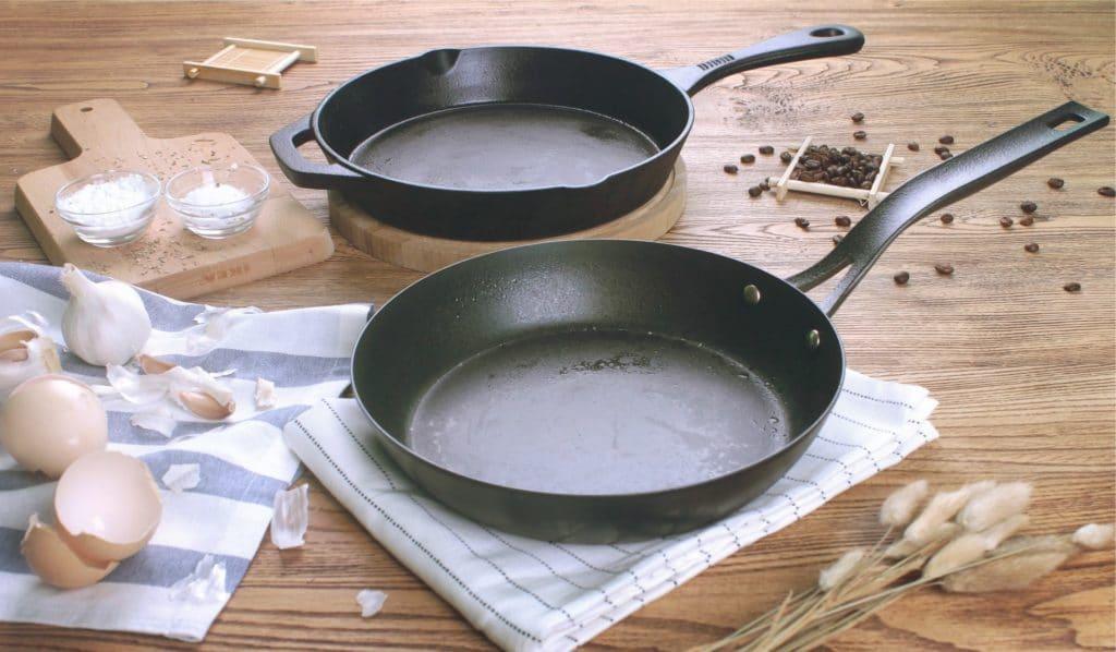 Wedding Registries - kitchenware cast iron pans kitchen
