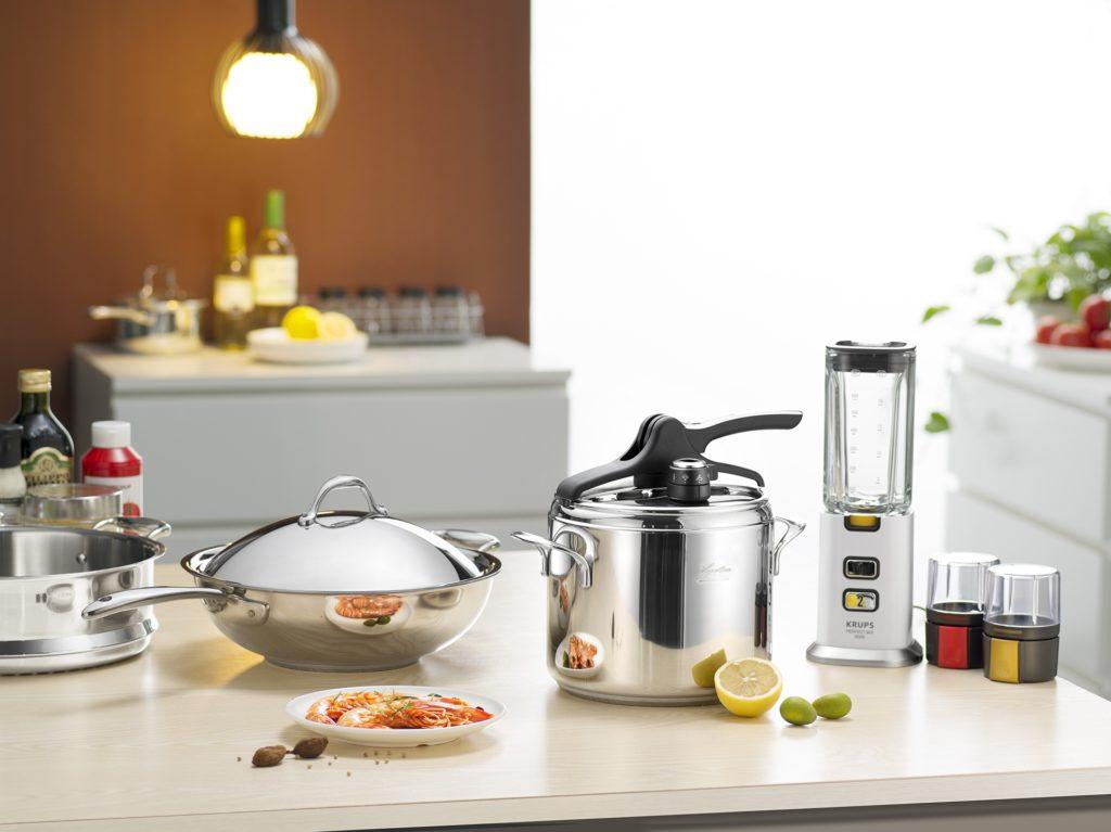 Wedding Registries - kitchenware pots pans blender