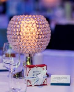Corporate Event Award Night Gala Dinner Centrepiece Crystal Styling CHECEKED