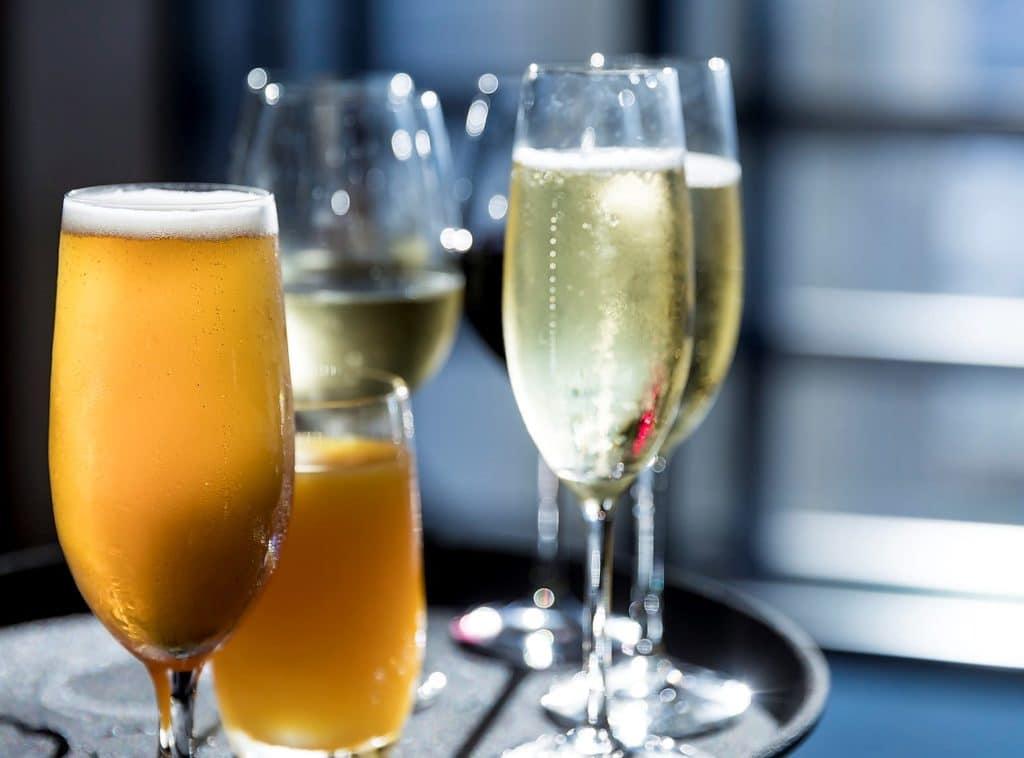 Drinks Wine Beer Corporate Event