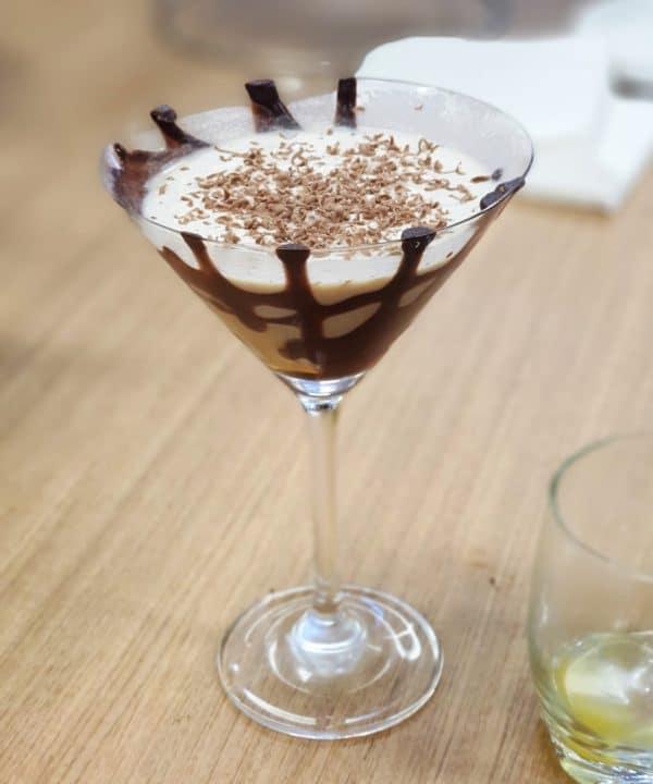Chocolate Toblerone Martini