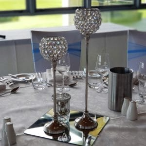 Crystal Centrepiece Golf Day Lunch