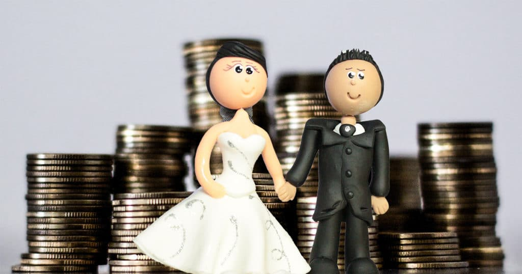Wedding Loan Couple Money Coins
