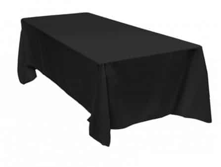 Table Cloth Black