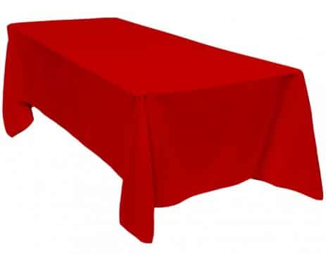Table Cloth Red
