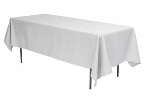 Table Cloth Silver Gray