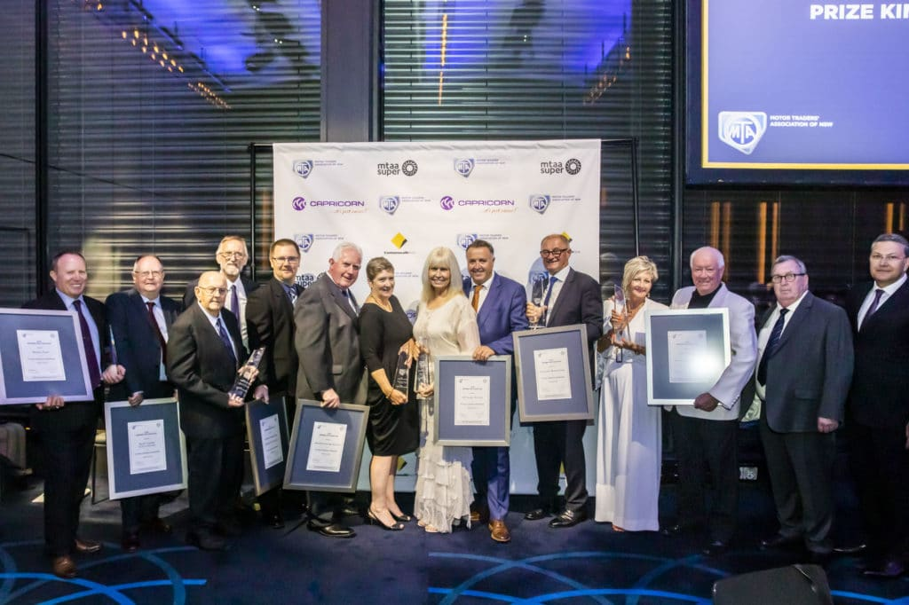 MTA NSW Recognition Dinner Gala Dinner Awards Night Charity Auction Award Winners
