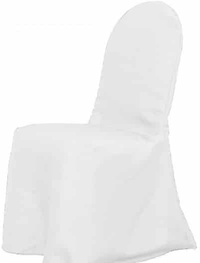 Fitted Chair Covers -White