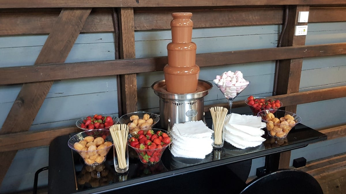Chocolate Fountain Display