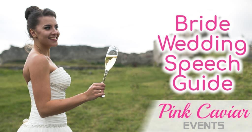 Bride wedding speech guide how To