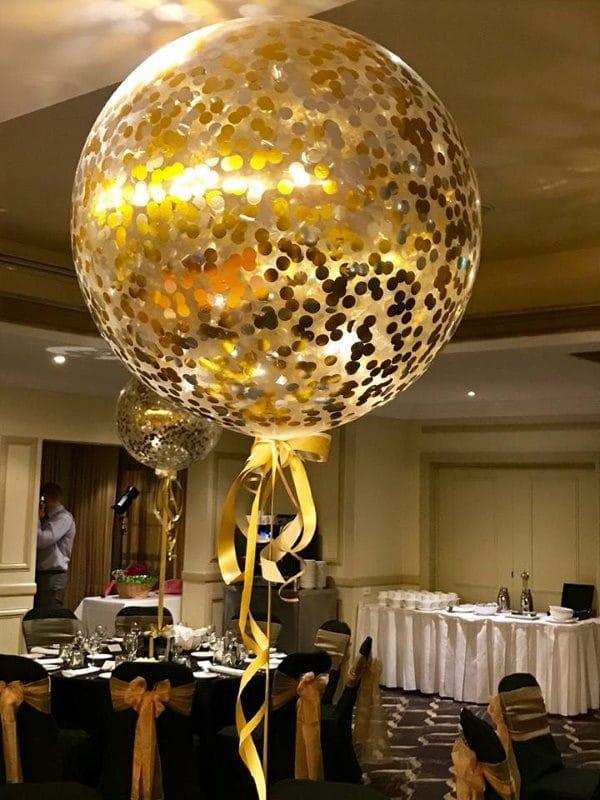 90cm confetti balloons