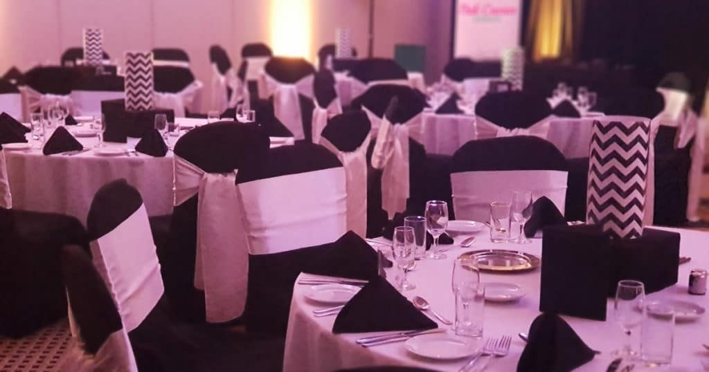 Corporate Event Gala Dinner Black And White Theme Organise Your Gala Dinner