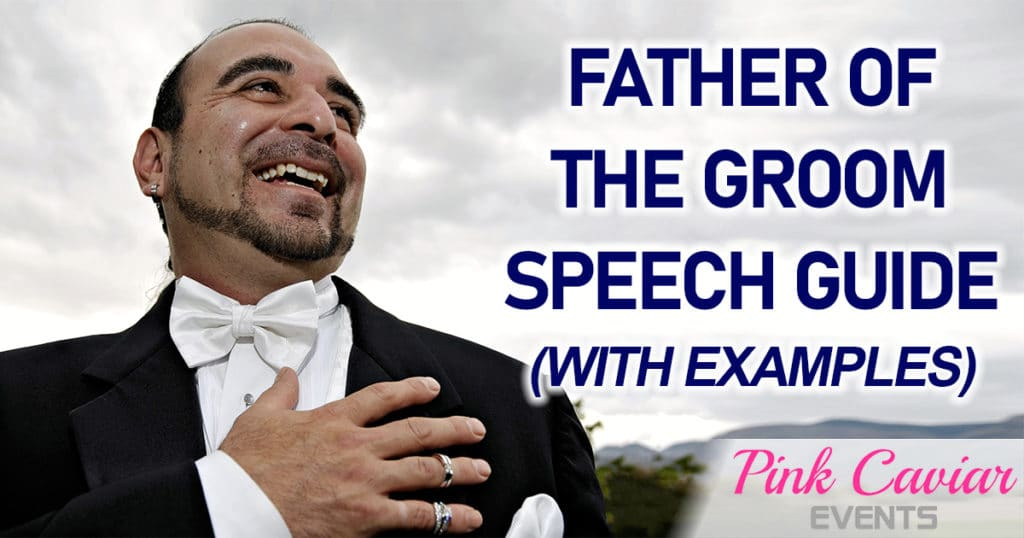 Father of the Groom Speech Guide With Examples White Tie Hand On Heart