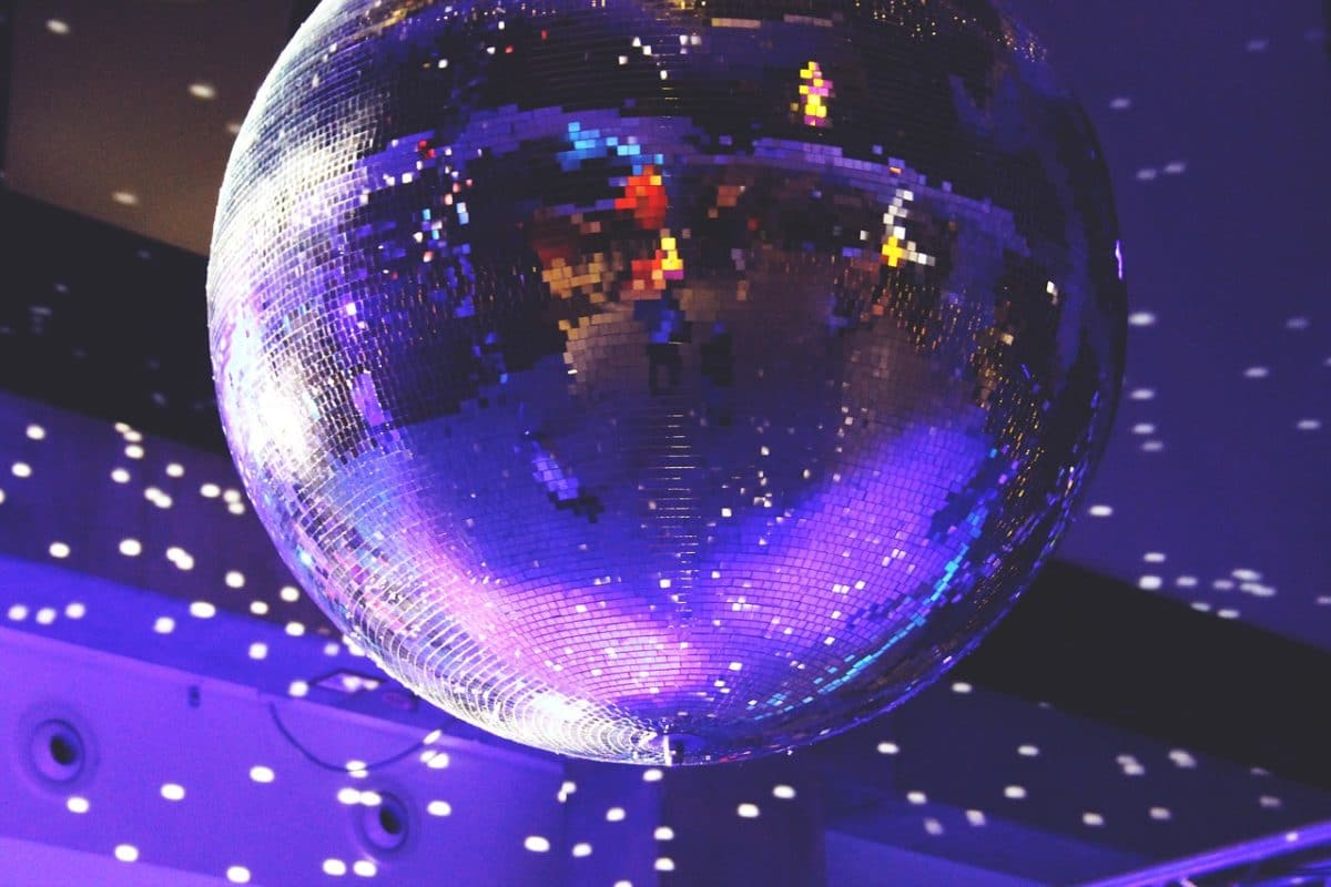 disco ball party theme corporate event