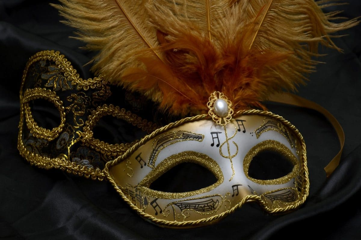 masquerade mask ball corporate themed party