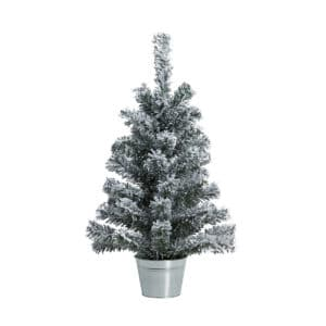 Christmas Tree with Snow Table Decor 60cm tall