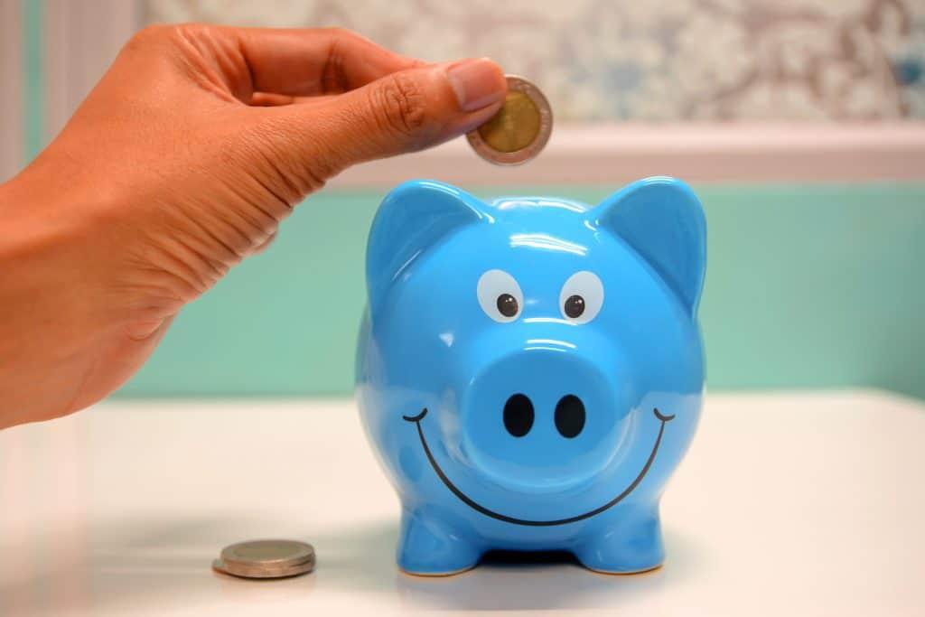 Saving Money Piggy Bank Budget