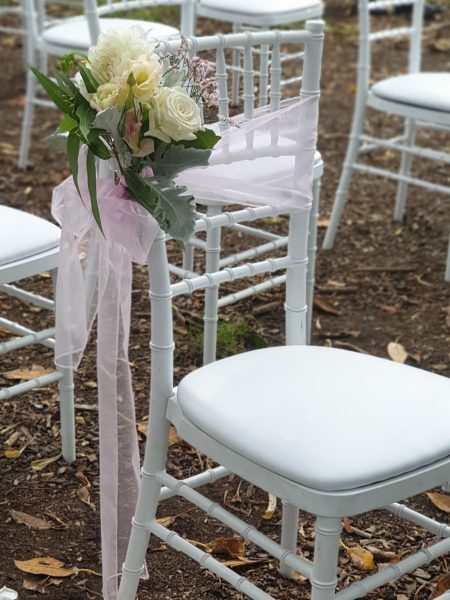Aisle Chair Flowers